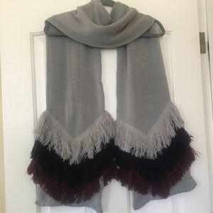 New Fringed Scarf